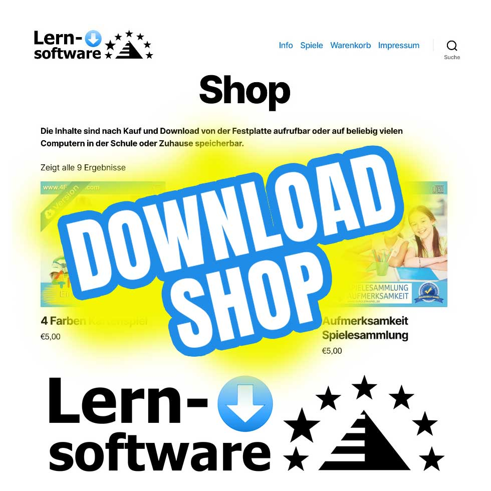 Lernsoftware-Shop